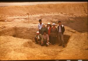 Апрель 1987. Эрк-кала.