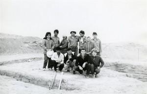 Экспедиция ТашГУ . Апрель 1987 год.