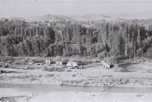 Обзор местности, открывающийся с Чечак-тепе.