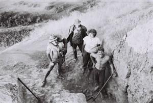 Студенты кафедры археологии Ташгу