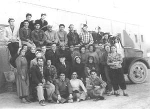 Отряд ЮТАКЭ (Старый Мерв) ноябрь 1961 год