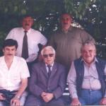 М. Гаджиев, Р.М.Мунчаев, Г.А.Кошеленко (первый ряд) В.А.Гаибов, С.В.Мокроусов (второй ряд)