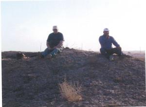 Туркмения. Г.А.Кошеленко и А.Губаев.