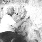 На Мансур-депе (Туркмения) восьмидесятые годы