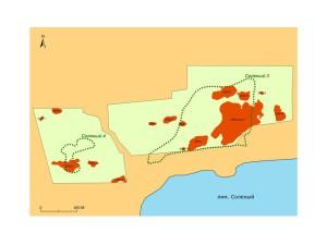 Пример результатов детального обследования участков, на которых расположены известные по предшествующим разведкам поселения.