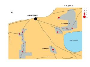 Количество фрагментов керамики, датированных III в. до н.э.