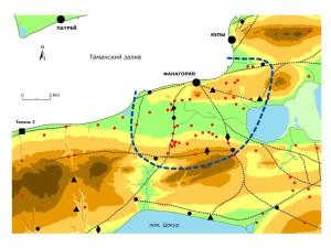 Расположение всех известных античных поселений