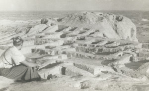 Раскопки памятника Топрак-кала